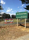 Arm Brook Park Sign