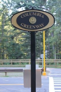 Columbia Greenway Sign